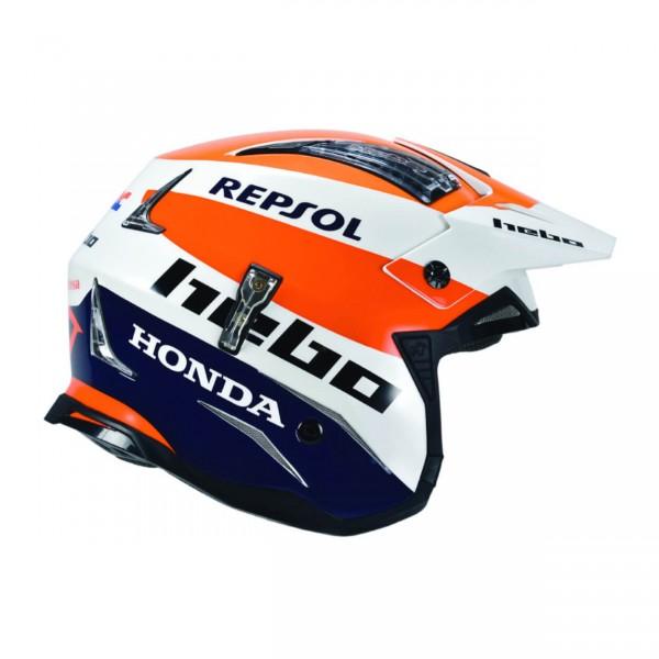 Trial Enduro Shop Hebo Repsol Fiberglas Helm