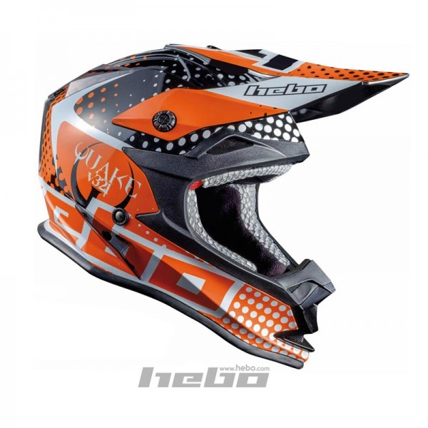 Trial-Enduro.shop Hebo Enduro / MX ABS Helm Enduro Orange