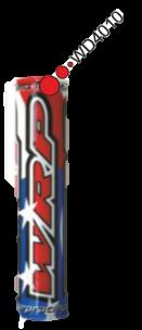 WRP Lenkerpolster Pro-Pad blau-weiß-rot, Stern