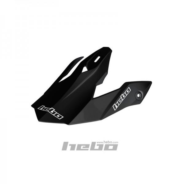 Trial-Enduro.shop Hebo Tracker Helmschild Schwarz HCR0521S