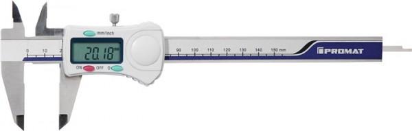 Trial Enduro Shop Messschieber DIN 862 150 mm digital mit Feststellschraube