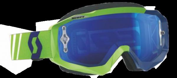 SCOTT Brille Hustle Chrome Grün-Blau