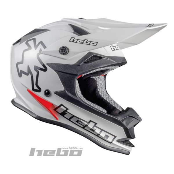 Trial-Enduro.shop Hebo Enduro / MX ABS Helm Enduro Weiß