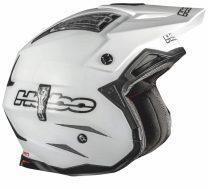 Trial Enduro Shop Hebo Fiberglas Helm Zone 4 Weiss