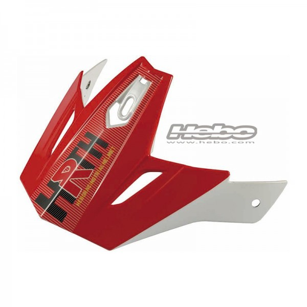 Helmschilr Hebo Zone 4 Rot