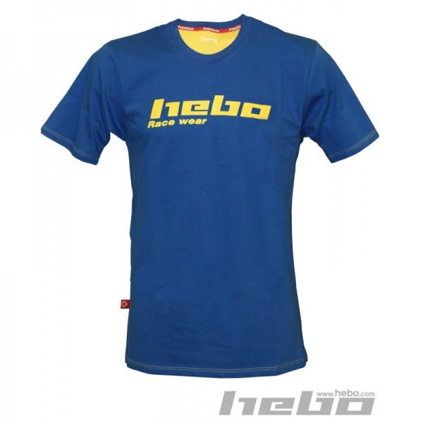 Hebo T-Shirt Blau
