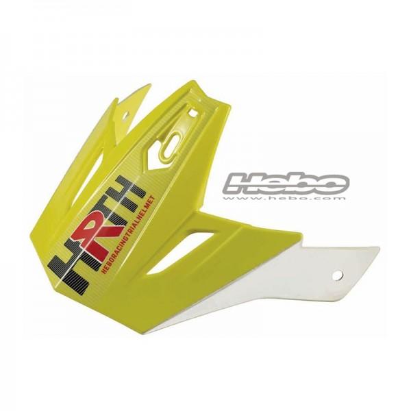 Helmschild Zone 4 Gelb