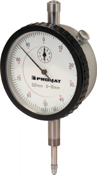 Trial Enduro Shop Messuhr DIN 878 10 mm Ablesung 0,01 mm mit Stoßschutz