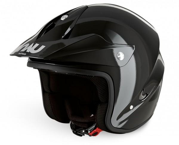 N400 Trial Helm Schwarz