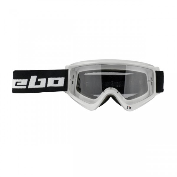 Trial Enduro Shop Hebo Brille Gravity II Weiss