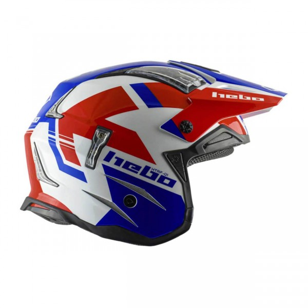 Trial Enduro Shop Hebo Zone 4 Fiberglas Helm