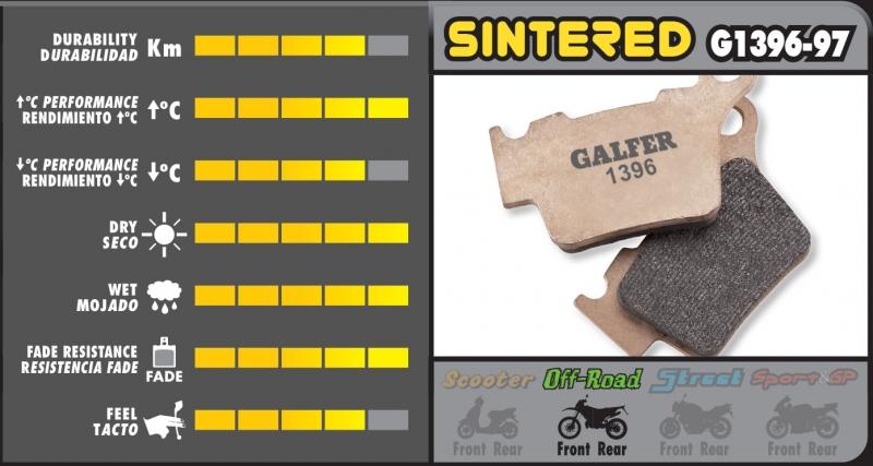 Galfer-Bremsbelag-G1056