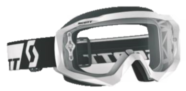 SCOTT Brille Hustle MX Weiss