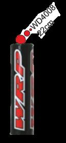 WRP Lenkerpolster Pro-Pad schwarz-rot, 22cm