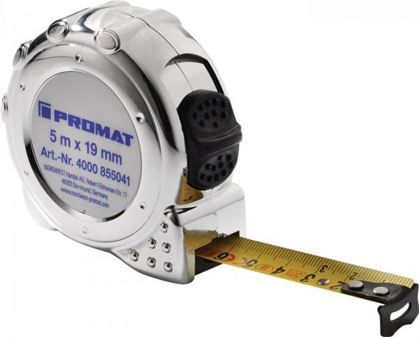 Trial Enduro Shop Taschenrollbandmaß Länge 3 m Breite 16 mm mm/cm EG II Kunststoff Chrom