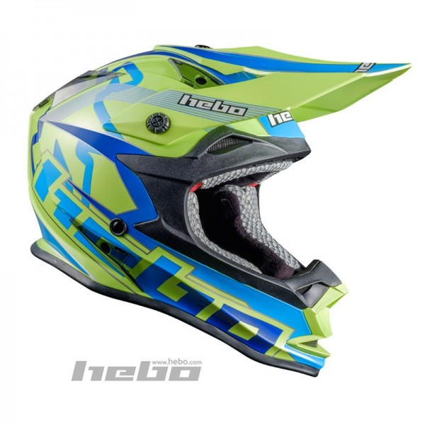 Trial-Enduro.shop Hebo Enduro / MX ABS Helm Enduro Gelb