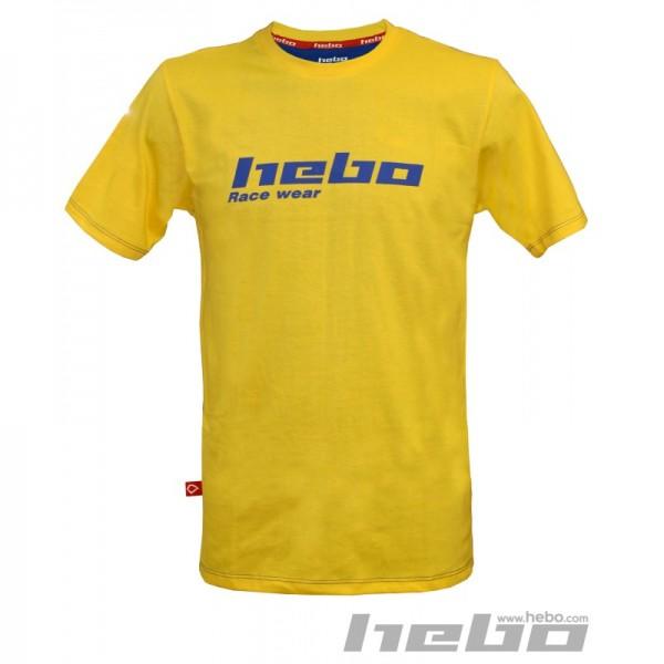 Hebo T-Shirt Gelb