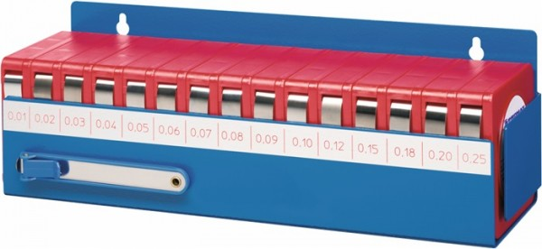 Trial Enduro Shop Fühlerlehrenbandset 0,01-0,25 mm Länge 5 m Breite 12,7 mm