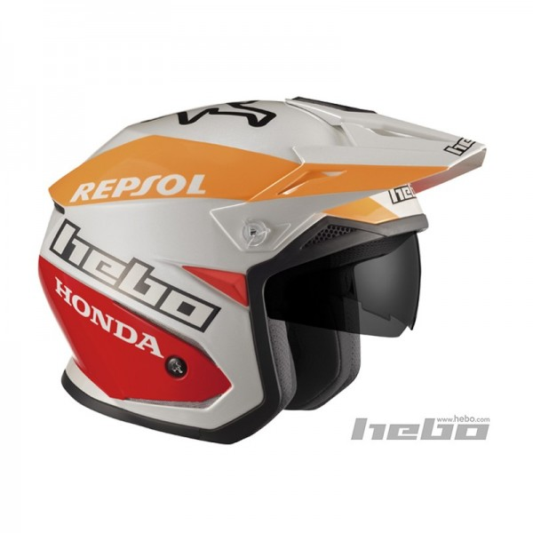 Trial Enduro Shop Hebo Zone 5 Repsol Trial Helm
