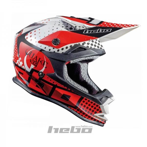 Trial-Enduro.shop Hebo Enduro / MX ABS Helm Enduro Rot