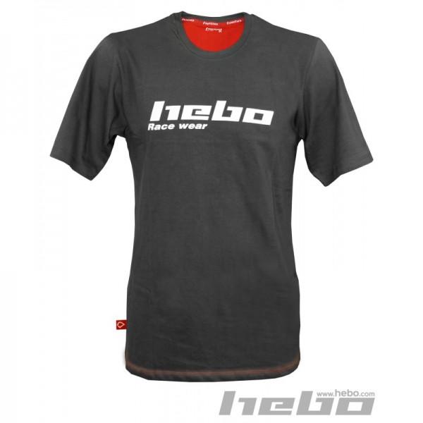 Hebo T-Shirt Grau